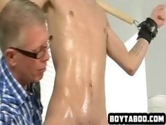oiled up